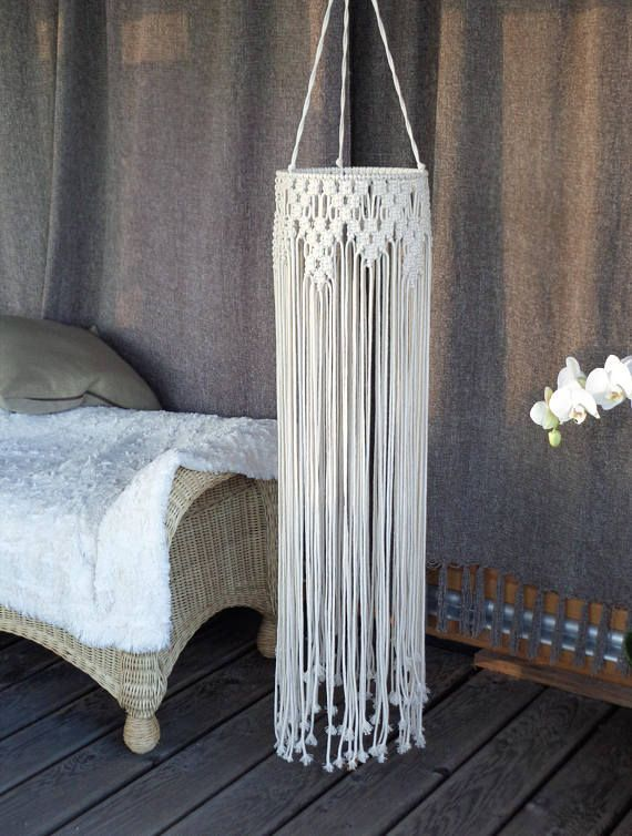 Macrame wall hanging. Macrame MOBILE. Original decor. So ethnic and boho. Size: diameter: 22 cm (8,7) total length: 135 cm (53,1) 100% handmade 100% natural cotton cord We ship WORLDWIDE! Shipping to Europe normally takes 5-8 days, to US, Canada – 7-15 days. Please feel free to contact me if you have any questions. Thank you for visiting MOX macrame! To see similar my product click here: https://www.etsy.com/shop/MOXmacrame?ref=hdr_shop_menu