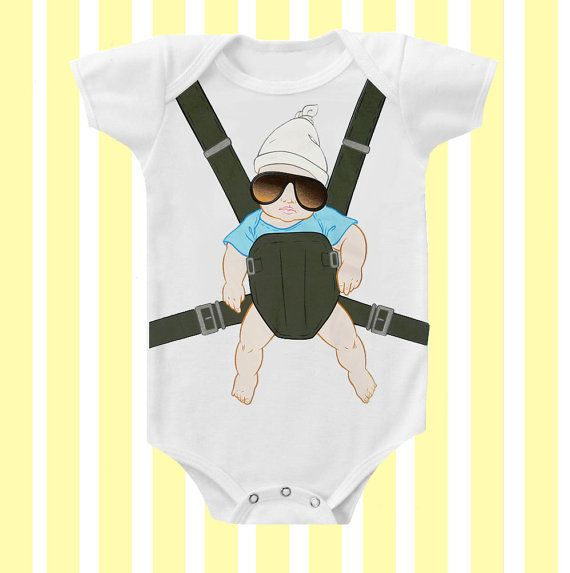 Baby Carlos Hangover Inspired  Baby Onesie Neutral by SimplyBaby on Etsy, $15.95