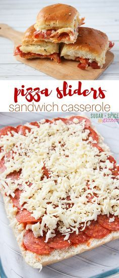 Yum! These pizza sliders are a delicious option for an easy weeknight supper that everyone can agree to. It also makes a great meal for…
