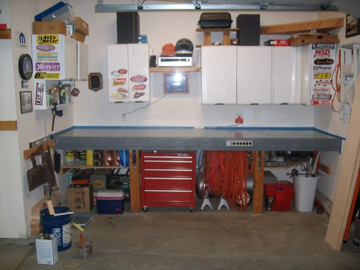 Garage Workbench Pegboard Google Search Garage