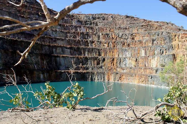 More Than Just a Mine - On The Road Incredible colours of the old #Mary Kathleen Mine #Fountain Springs #Mt Isa #old mines #QLD #Queensland