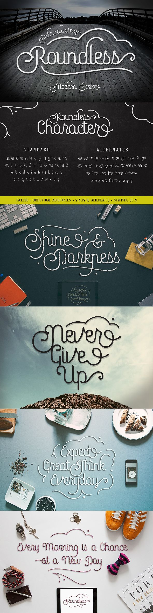 cursive fonts for wedding cards%0A Roundless Script