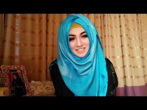 Hijab style for Salwar Kamij & Burkha | Pari ZaaD ❤ - YouTube