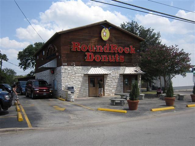 Round Rock, Texas - Round Rock Donuts / Lone Star Bakery | Follow ...