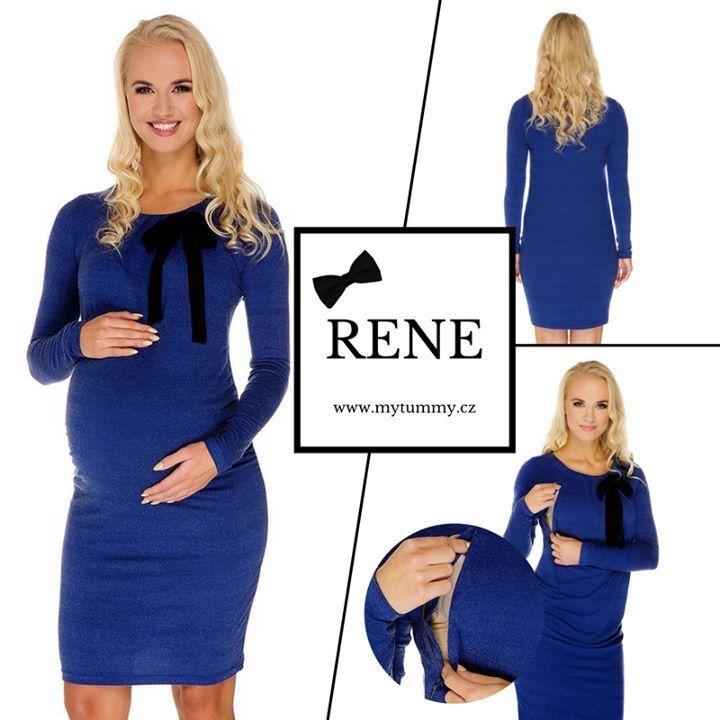 NOVINKA!  Naše nabídka se těší z přítomnosti nových šatů RENE, které jsme naskladnili ve všech velikostech. A už teď můžeme prozradit, že je na co se těšit :-) Těhotenské a zároveň kojící šaty mají dobře promyšlený střih a příjemný materiál, který podtrhuje ten správný odstín završený něžnou mašličkou :-)  http://mytummy.cz/multifunkcni-saty-rene.html