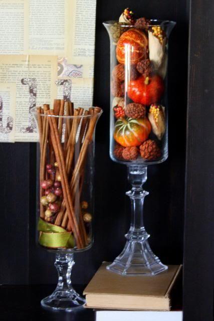Hurricane Vase Filler Ideas