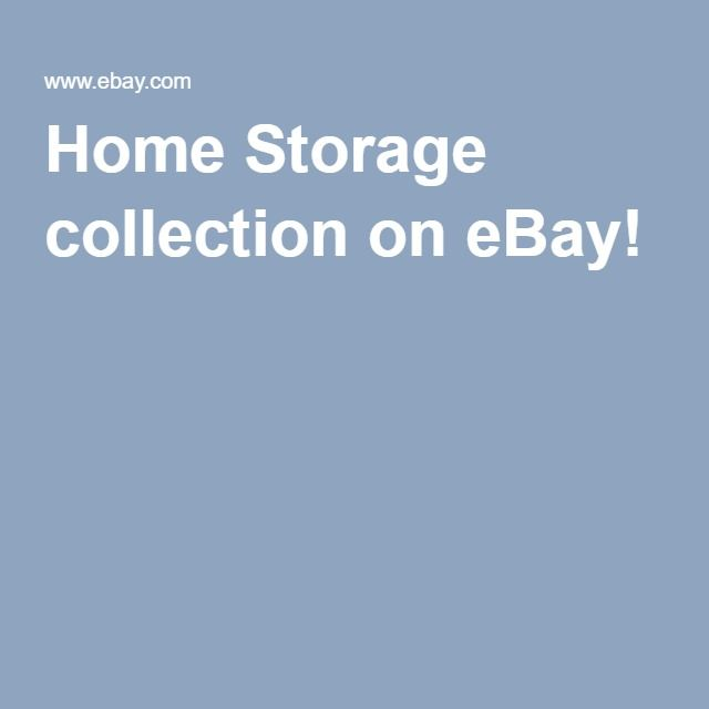 Home Storage collection on eBay!