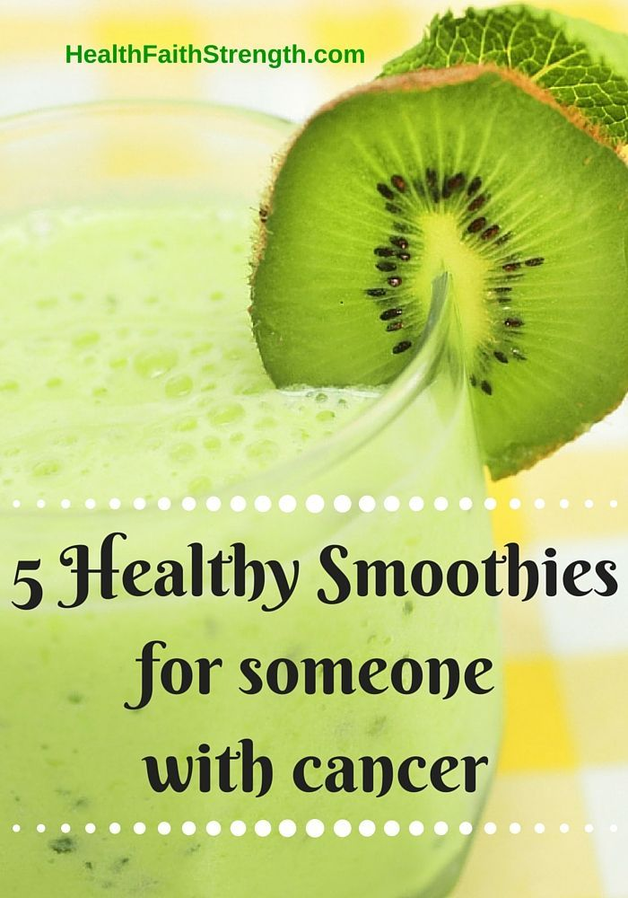 Discover the benefits of smoothies for someone who has been diagnosed with cancer. Let's talk about ingredients & how to make them as healthy as possible.