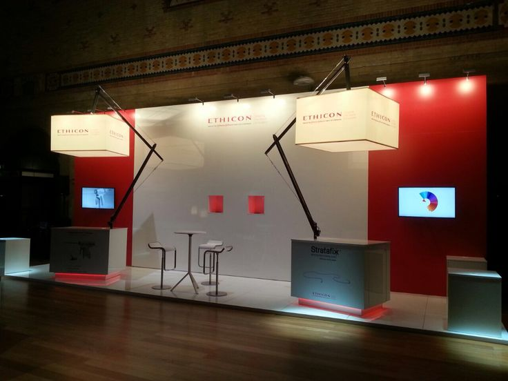 A stand for J&J design And Construction by Standcraft NL