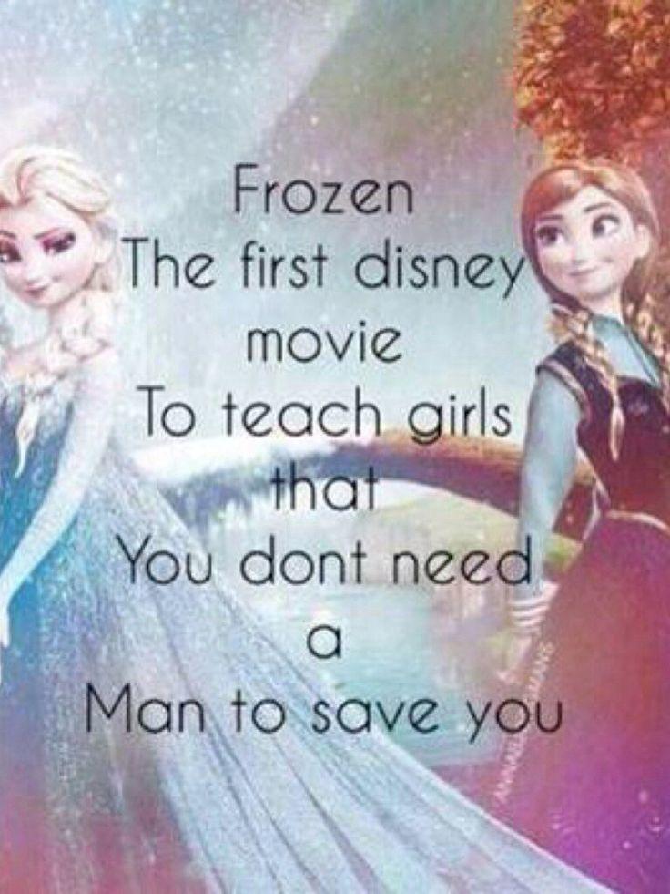 So true... Love Frozen