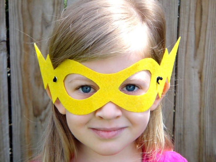 Superhero Mask - make it!