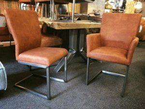 Aanbieding industriele stoel Jack met of zonder armleuning en oud staal