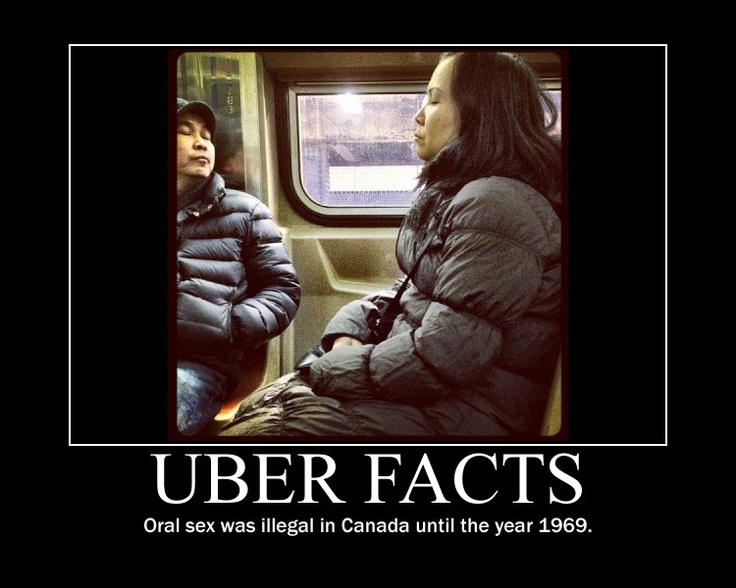 Uber Facts...is this where they got the term 69?