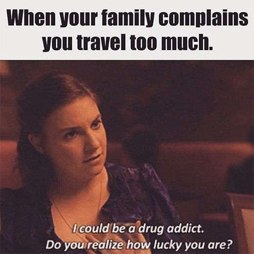 Perfect reasoning haha. Who does this remind you of? #travel
