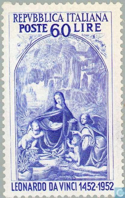 Postage Stamps - Italy [ITA] - Leonardo da Vinci