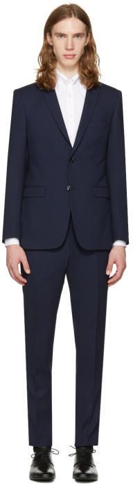Tiger of Sweden Navy Atwood Suit