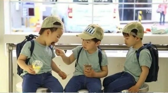 Brothers-love #SongTriplets already miss you,the cutest triplets I've ever seen