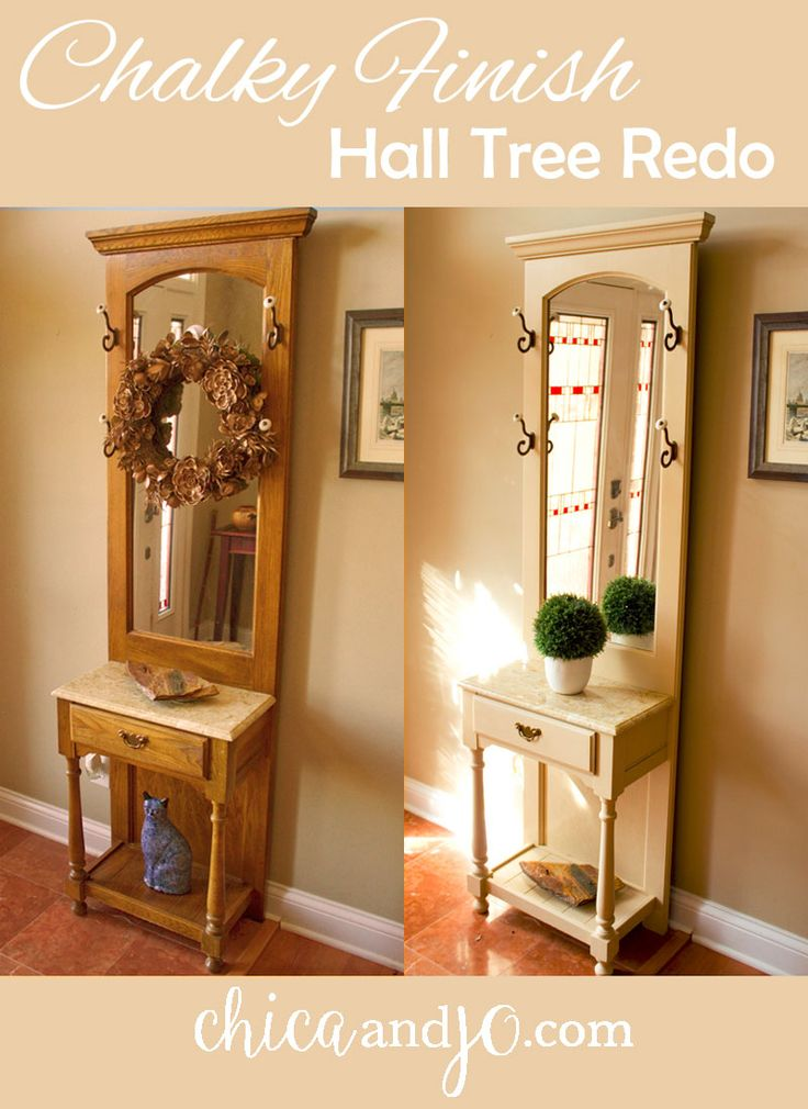 Hutch Top Makeover Ideas