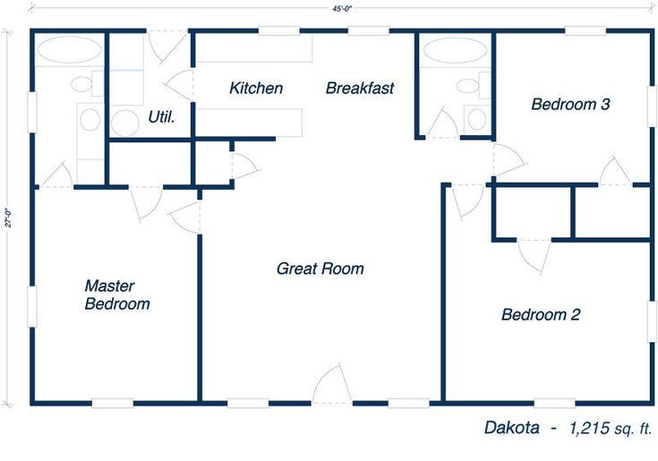Best 25 metal building house plans ideas on pinterest for 30x50 metal building house plans