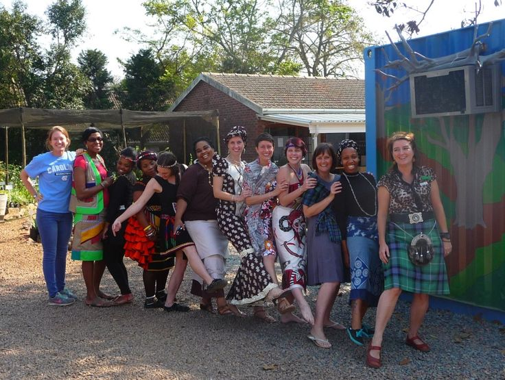 Tomorrow is Heritage Day in South Africa! 24 Sep 2014 and so some of the HACT/Woza Moya staff decided to dress up to celebrate their Heritage!