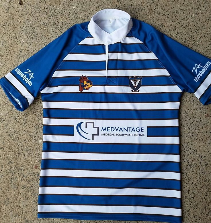 Shosholoza sublimated rugby jersey