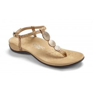 Gold Cork orthopedic sandal - Got these and love them. Well worth the cost.