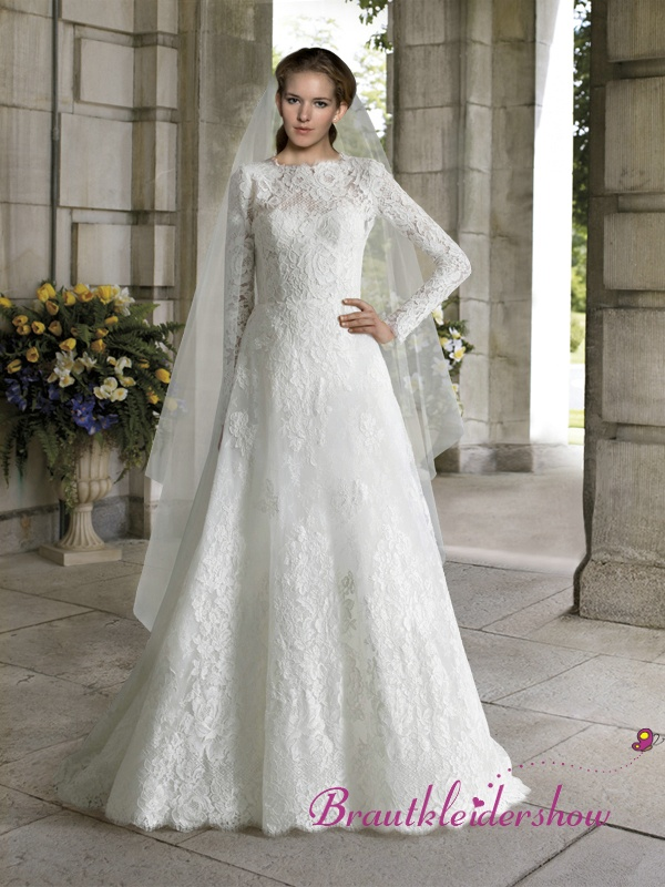 35 best Brautkleider mit Spitze images on Pinterest | Wedding ...