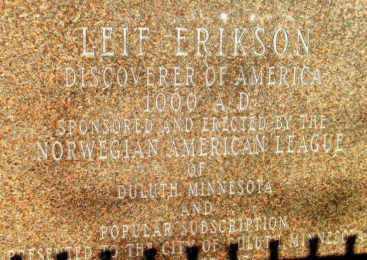 Leif Erikson Park Statue in Duluth Minnesota - News