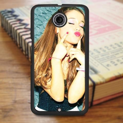 Ariana Grande Sexy Kiss Nexus 6 Case