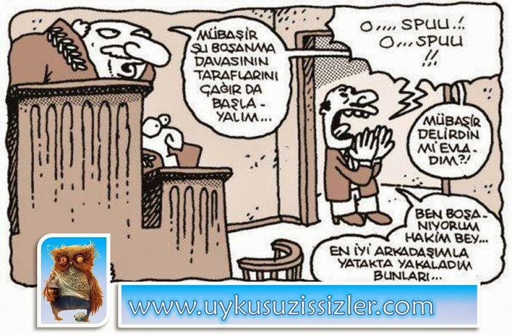 Karikatür: Mübaşir delirdin mi evladim?!