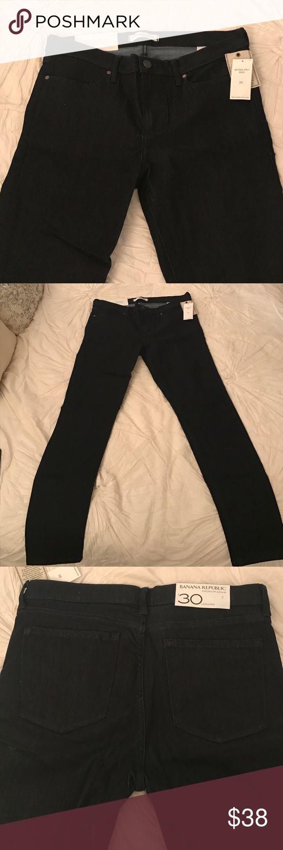 Banana Republic Legging Denim Legging jeans. Never worn, still have tags on them. Beautiful denim with good stretch. Mid rise size 30 Banana Republic Jeans Skinny