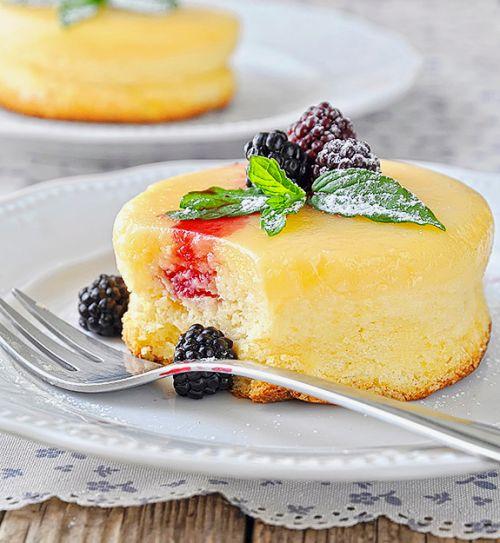 Lemon Soufflé Pudding Cake (Greek Recipe)