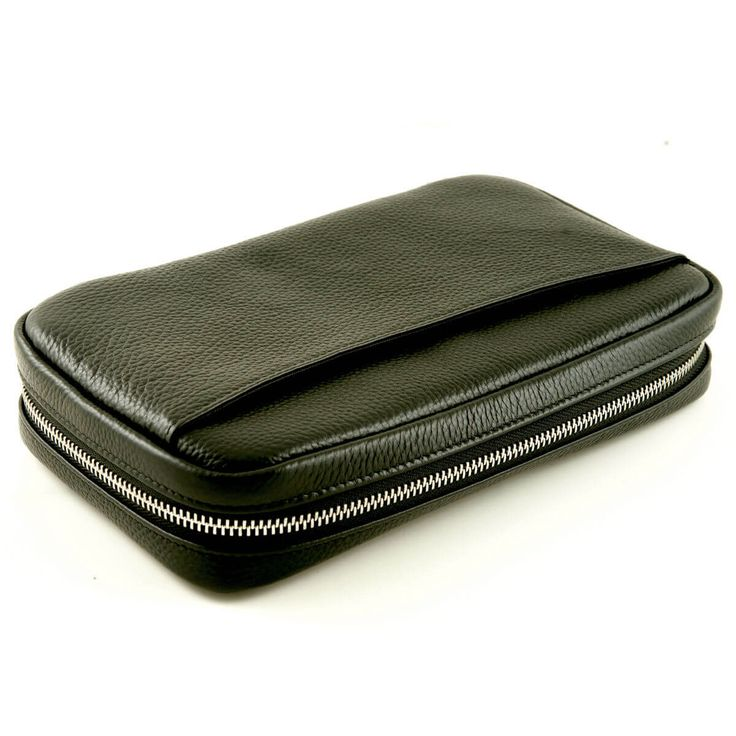 Genuine leather cigar case can carry 5 cigars, cigar rest, lighter, cigar cutter, business and credit cards, as well as your cell phone. HAVE A LOOK