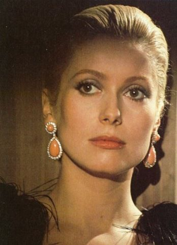"""""""A woman has to be intelligent, have charm, a sense of humor, and be kind. It's the same qualities I require from a man."""" Catherine Deneuve"""
