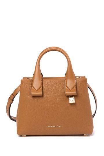 Rollins Small Pebbled Leather Satchel  8d3d2922c78cd