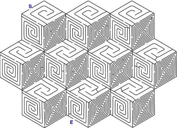 Hard maze