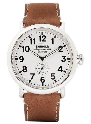 Shinola, The Runwell Watch, Mr. Porter, http://www.tpgstyle.com/2015/01/the-edit-picks-of-month-january.html