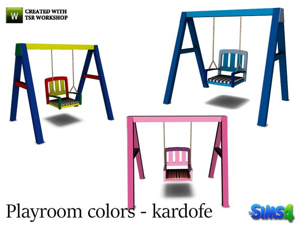 kardofe_Playroom colors_Swing set