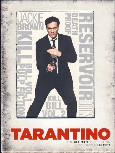 Quentin Tarantino - The Ultimate Collection (Boxset), Includes: Reservoir Dogs, Pulp Fiction, Jackie Brown, Kill Bill Vol. 1 & 2 and Death Proof DVD ~ Quentin Tarantino, http://www.amazon.com/dp/B0031P77RU/ref=cm_sw_r_pi_dp_-oeRqb0MRVEWM