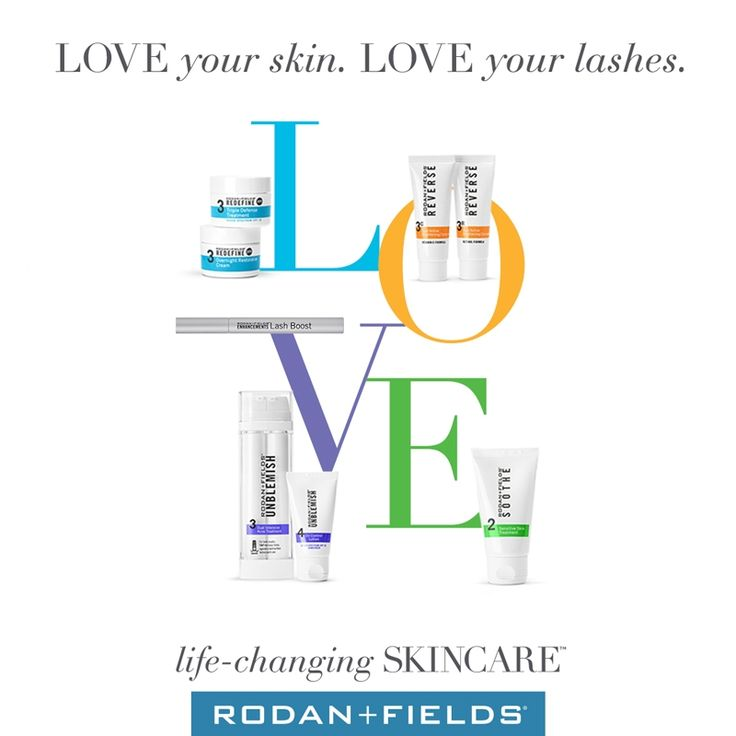 Rodan and Fields: Lash and Regimen (Reverse, Redefine, Soothe, Unblemish) LOVE your skin