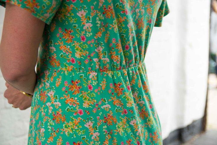 Jersey Knit Sewing Patterns : The Cordelia Dress Pattern by Sew Me Something, using Art Gallery Fabrics Pri...