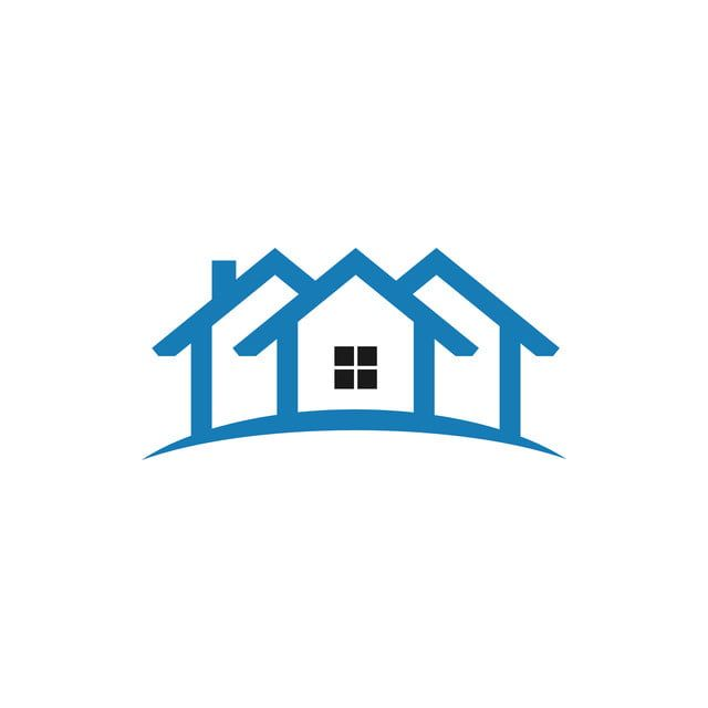 219 Views House Outline House Silhouette House Logo Design