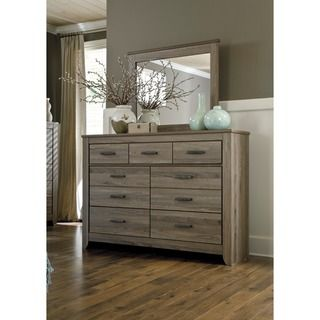 Signature Design by Ashley 'Zelen' Dresser and Mirror Set | Overstock