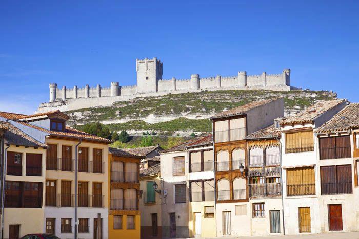 Castillo de Peñafiel - Valladolid, Castilla y León, España.
