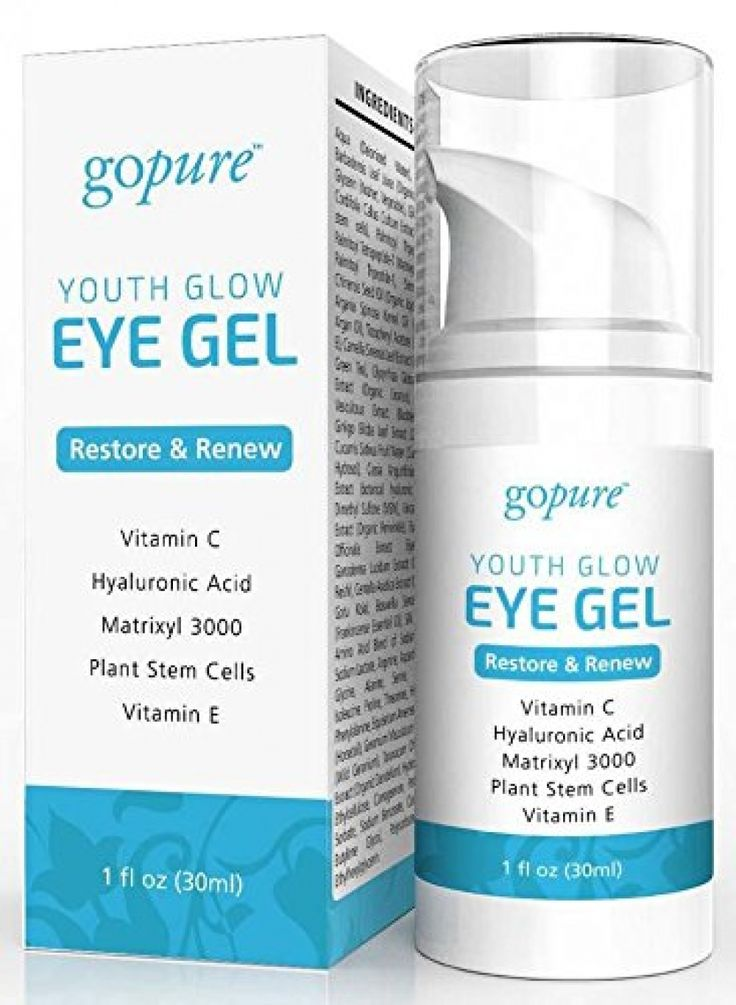 goPure Eye Gel with Plant Stem Cells, Matrixl 3000, Aloe