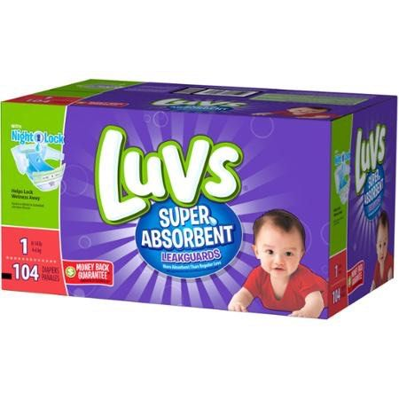 Sweet!! More diaper deals! Get Luvs Diapers 104ct Box for just $9.47 at Walmart after Ibotta Rebate and this Printable Coupon! That's only $0.09 per diaper! Grab your prints now and score this deal! $1.50 off one Luvs Diapers Printable Coupon Walmart Deal Buy 1 – Luvs Diapers 104ct Box for $15.97 Use 1 – …