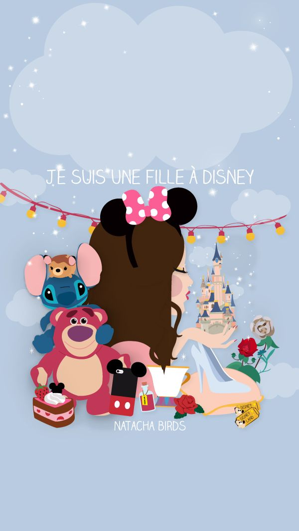 Free Disney backgrounds for phone.  In French.