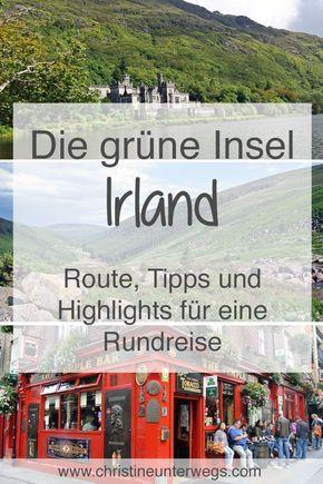 Was man bei einer #Reise nach #Irland unbedingt sehen sollte: https://www.christineunterwegs.com/category/reisen/irland/