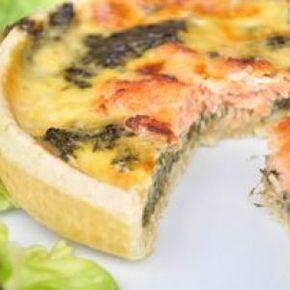 Voici une délicieuse recette de tarte au saumon frais ou fumé et épinards frais ou surgelés. Ingrédients, temps de cuisson, voici comment réussir