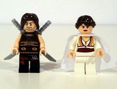 Lego Prince of Persia Dastan Tamina Minifigures with Swords Dagger New | eBay